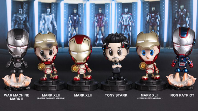 TEASER - Hot Toys Iron Man 3 Cosbaby