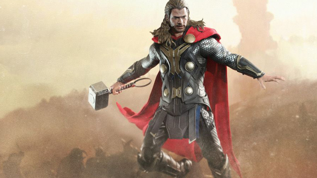 TEASER - Hot Toys  - Thor - The Dark World