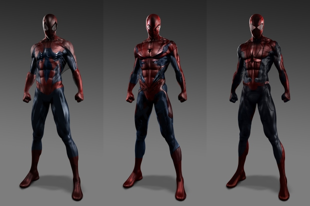 THE AMAZING SPIDER-MAN - Bold Alternate Costume Design All