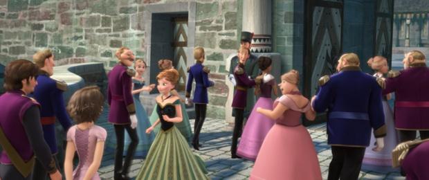 Frozen Easter Egg - Rapunzel and Flynn