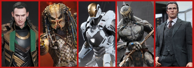 Multiple Vertical Teaser - Hot Toys 2014 JAN