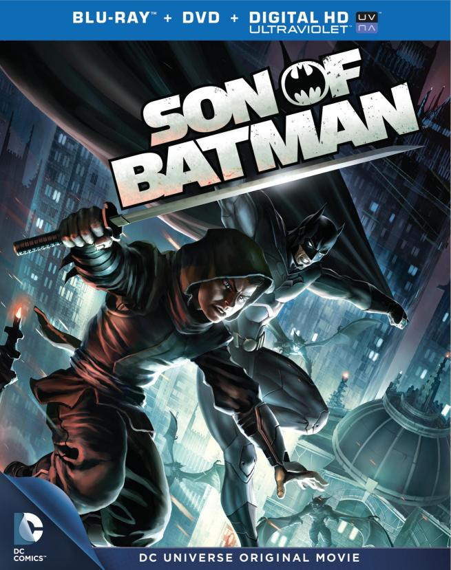 Batman and Son - Cover