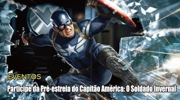 Blog Teaser -  Captain America Pré-Estreia