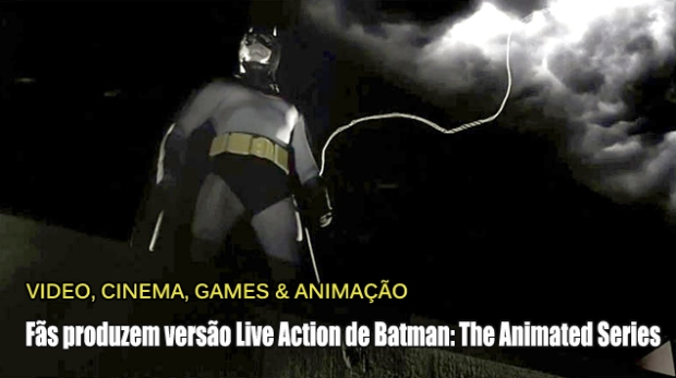 Blog Teaser -Batman - The Animated Series Live Action