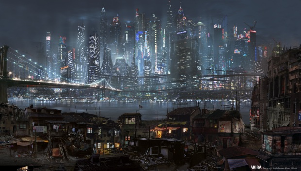 AKIRA Live Action 2009 - Concept Art New City - Old City