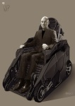 Concept Arts by Phillip Boutte Jr - Charles Xavier 01