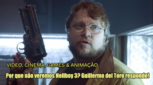 Blog Teaser - Guillermo del Toro - Hellboy 3