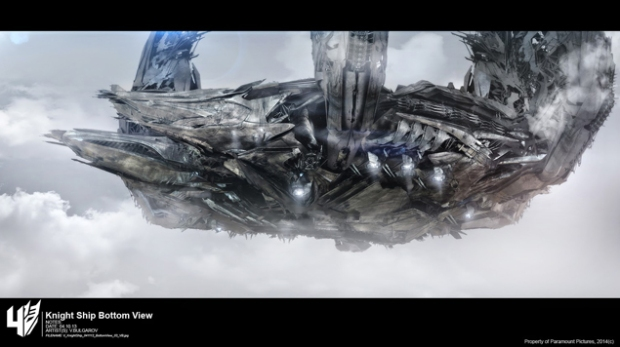 Blog Teaser - Transformers - Age of Extinction - PRISON SHIP