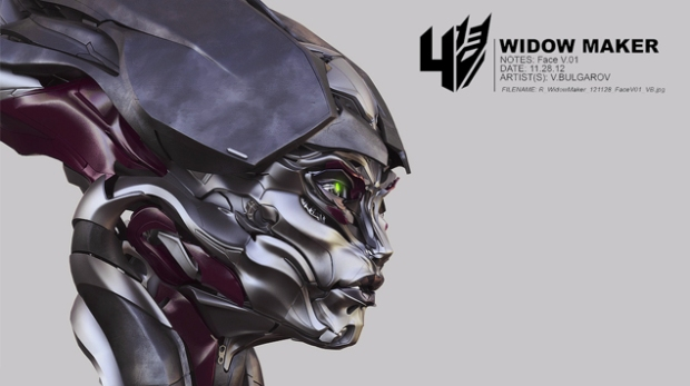 Blog Teaser - Transformers - Age of Extinction - WIDOWMAKER