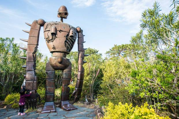 The Robot from Castle in the Sky at the Ghibli Museum 01
