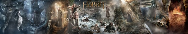 The Hobbit: The Desolation of Smaug Giant Banner