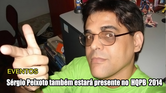 Blog Teaser -  HQPB 2014 Sérgio Peixoto
