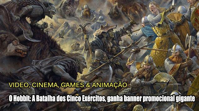 Blog Teaser -  O Hobbit - A Batalha dos Cinco Exércitos