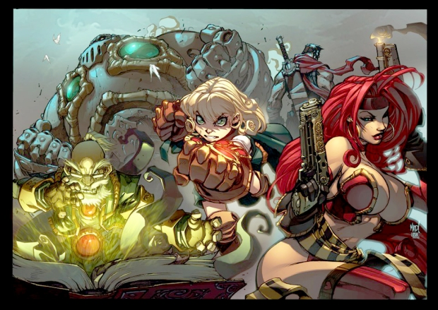 Battle Chasers Promo 02