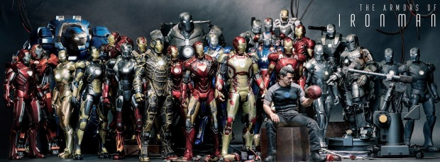 Hot Toys - Movie Masterpiece -  Iron Man Collection 02