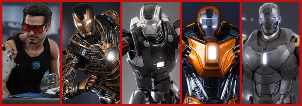 Multiple Vertical Teaser - Hot Toys Iron Man Special 01