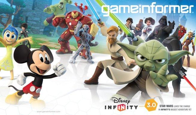 Game Informer Cover - Disney Infinity 3-0