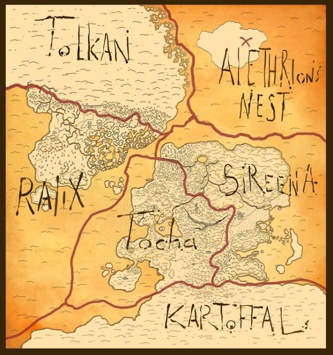 Mapa de Alethrion