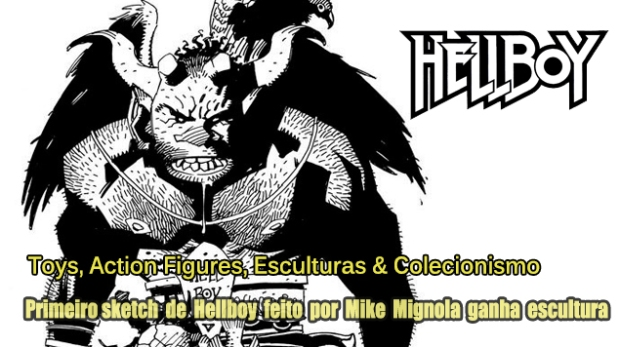 Blog Image Gallery Teaser - Hellboy Frist Sketch