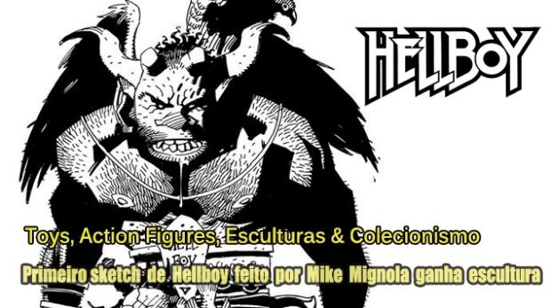Blog Image Gallery Teaser - Hellboy Frist Sketch