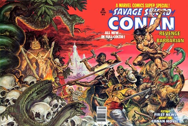 Conan Cover Art by Norem