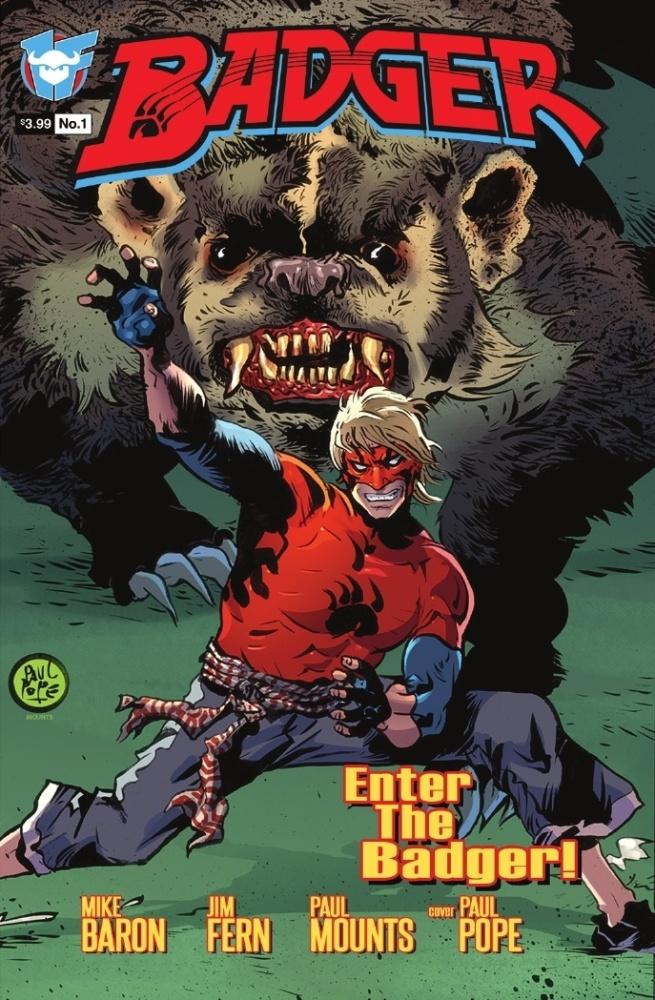 Badger #1 - 1 First Comics